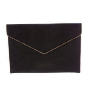 Rebecca Minkoff Black Envelope Clutch